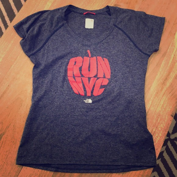 c538c56fa Run NYC Marathon North Face technical T-shirt